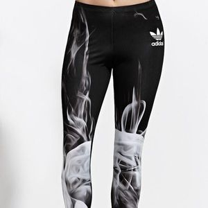 Rita Ora x Adidas Smoke Leggings